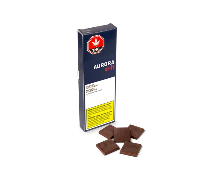 64% Cocoa Dark Chocolate - Aurora Drift  - Edibles