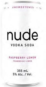 Orchard City Distilling Nude Vodka Soda Raspberry Lemon 2130ml