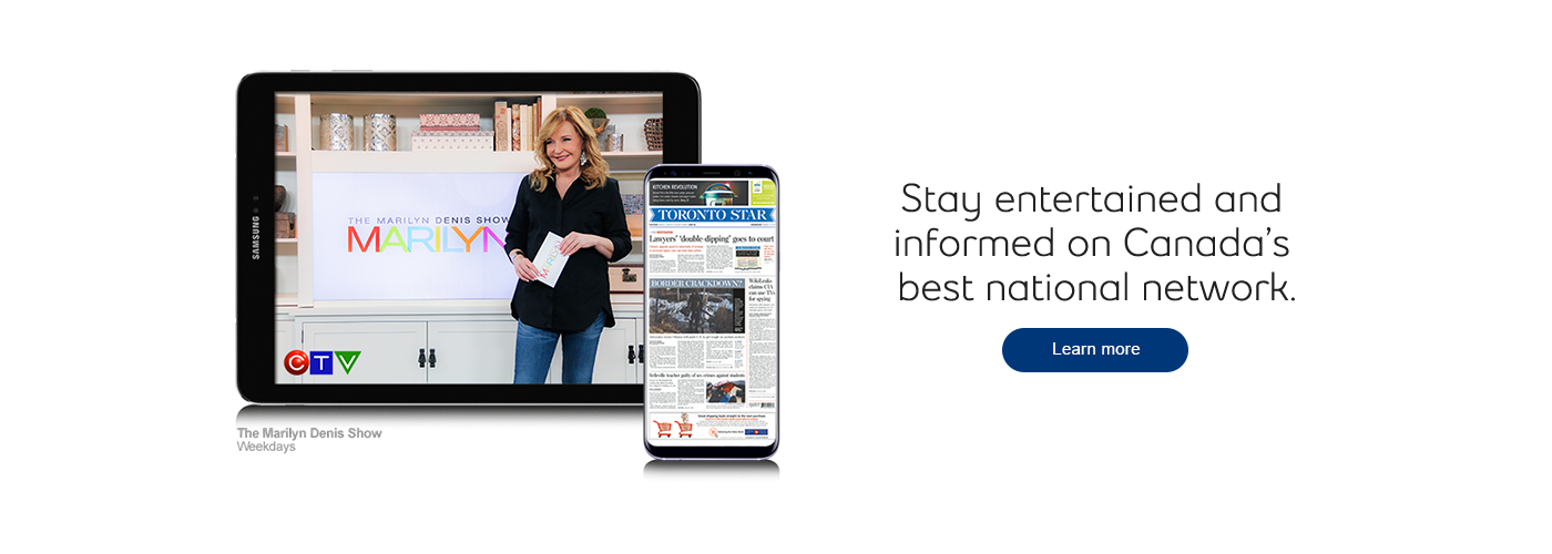 Stay entertained and informed on Canada's best national network.
