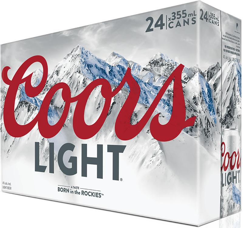 24C Coors Light 8520ml