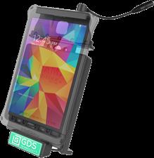 RAM Mounts Galaxy Tab 4 8.0 Dock w/ Audio Jump, Lock, GDS