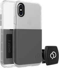 Nimbus9 iPhone XS/X Ghost 2 Case with Rotating Magnetic Wall And Vent Mounts