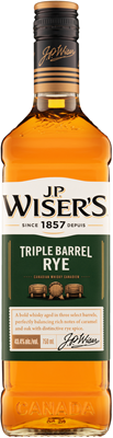 Corby Spirit & Wine J.P. Wiser's Triple Barrel Rye 750ml