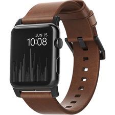 Nomad Apple Watch 38mm Leather Wristband