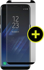 Gadget Guard Galaxy S8+ Black Ice Plus Cornice Curved Edition Tempered Glass Screen Guard