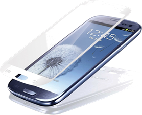 Samsung Vitrio Tempered Glass Screen Protector for Galaxy SIII
