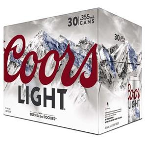 Molson Breweries 30C Coors Light 10650ml