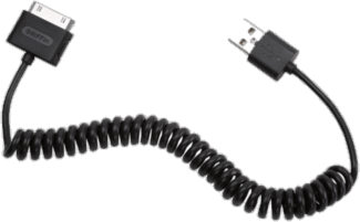 Griffin USB to 30 Pin Coiled Dock Cable