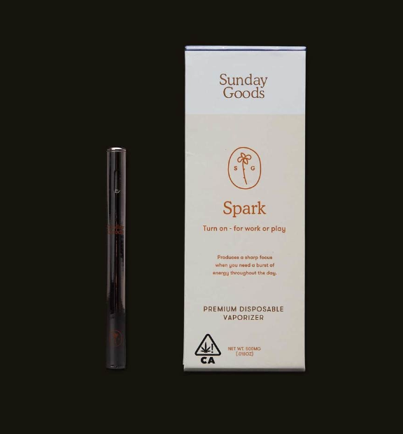 Sunday Goods Disp: Spark .5g