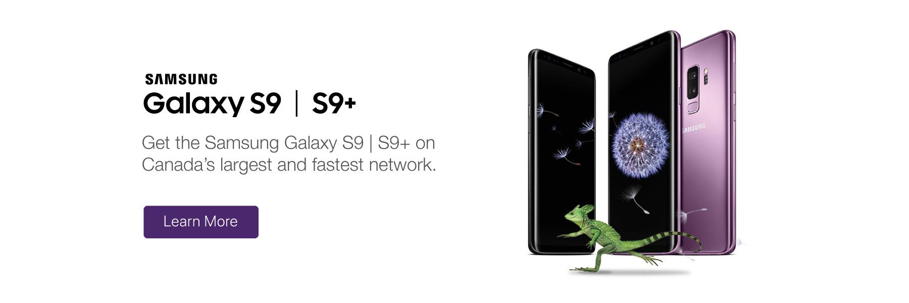 Samsung Galaxy S9 & S9+ - TELUS