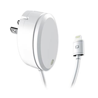 Qmadix Lightning Dual USB 2.4A (12W) Travel Charging Hub