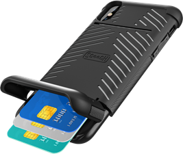 Scooch iPhone XR Wingmate Wallet Case