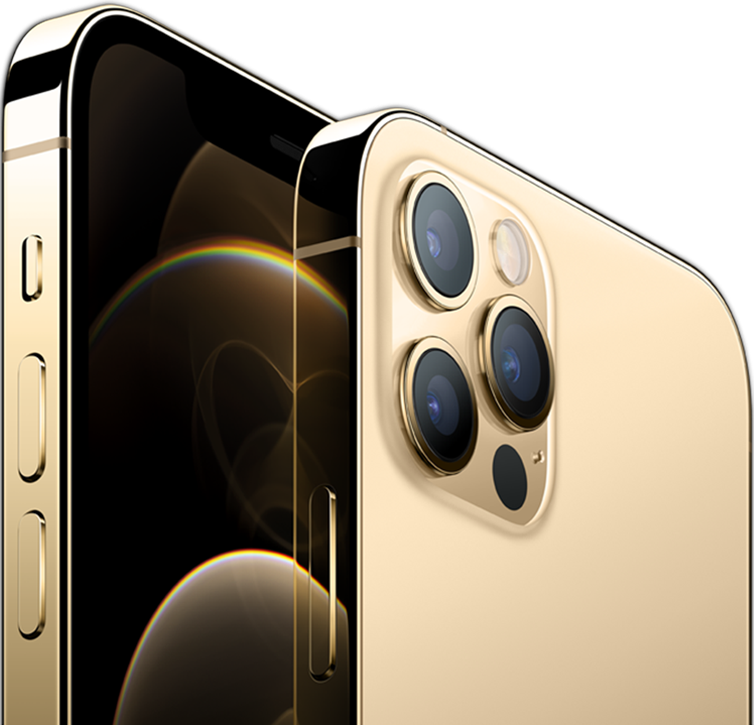 iPhone 12 Pro in gold colour