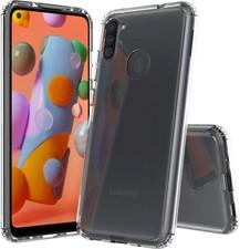 Blu Element Galaxy A11 DropZone Clear Case