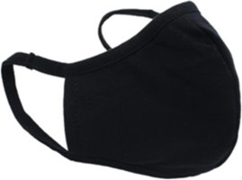 BMG Ready First Aid Black Reusable Face Mask