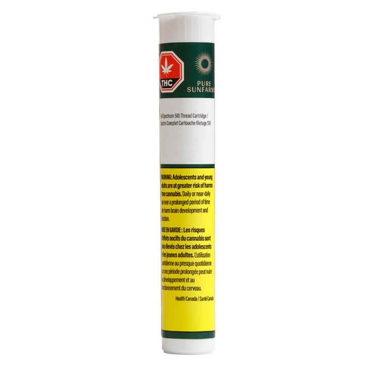 White Rhino Full Spectrum - Pure SunFarms - 510 Cartridge