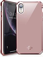 ITSKINS iPhone XR Hybrid Glass Iridium Case