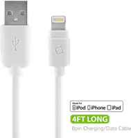 Cellet 4' Lightning to USB Data Cable