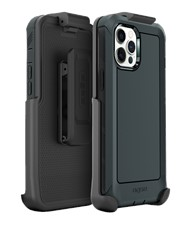 Base - iPhone 13 Bolder Heavy Duty Co-Molded Rugged Protective Case w/ Belt Clip Holster