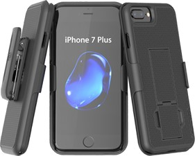 iPhone 7/8 Plus Encased Holster Shell Combo With Kickstand
