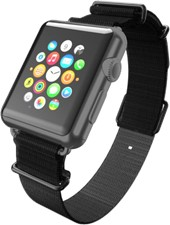 Incipio Apple Watch 42mm Nato Style Strap Watch Band