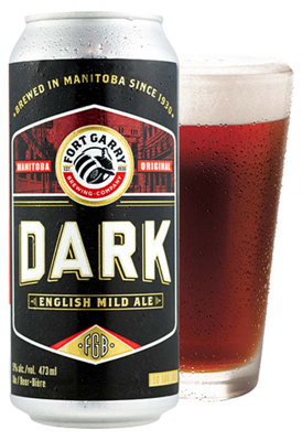 Set The Bar Fort Garry Dark Ale 473ml