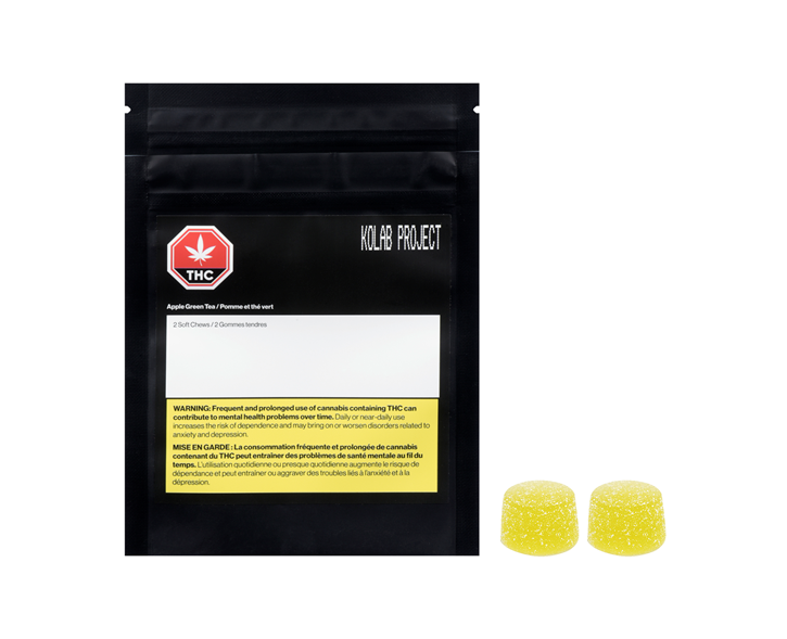 Apple Green Tea Soft Chews - Kolab - Gummies