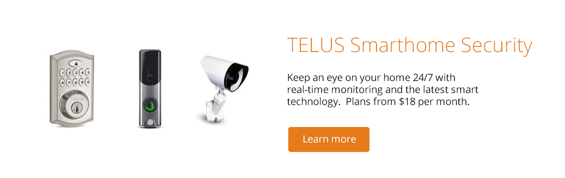 TELUS Smarthome Security Solutions