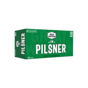 Great Western Brewing Company 18C Great Western Pilsner 6390ml