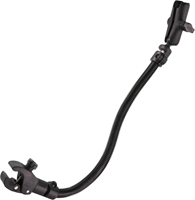 RAM Mounts RAM Tough-Claw with RAM Flex-Rod 26inch Extension Arm for Wheelchairs - B-Size