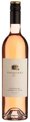 Vintage West Wine Marketing Pasquiers Grenache Cinsault Rose 750ml