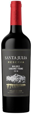 Bacchus Group Santa Julia Reserva Malbec Cabernet Franc 750ml