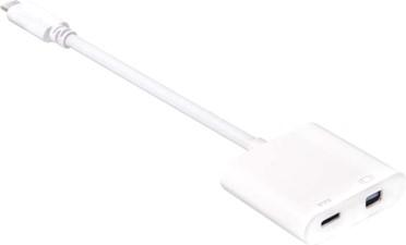 Club3D - USB-C 3.1 Gen 1 Male to Mini Display Port 1.2/Thunderbolt 2 and PD60W Adapter