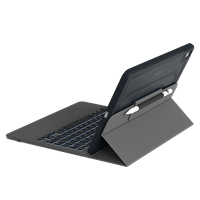 Zagg Rugged Messenger Bluetooth Keyboard Case For Ipad 10.2