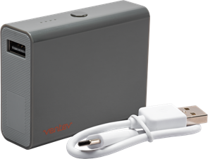 Ventev Powercell 5200mAh Battery with USB Type-C Cable