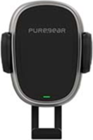 PureGear 10W AutoGrip Universal Car Charging Mount w/ Qi + Vent Clip