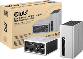 Club3D - USB 3.1 Gen 1 4K UHD Mini Docking Station