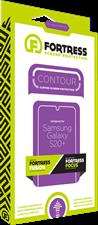 Fortress Galaxy S20 Plus Contour Fusion Screen Protector $200 Guarantee