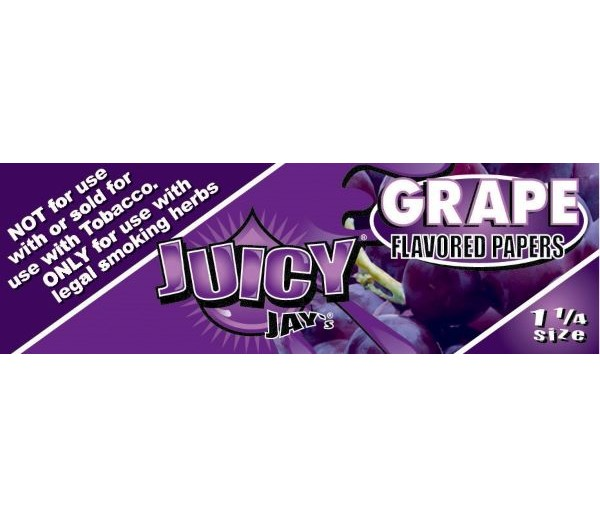 Juicy Jay, Grape Flavored Papers