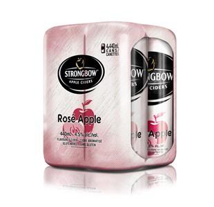 Molson Breweries 4C Strongbow Rose 1760ml