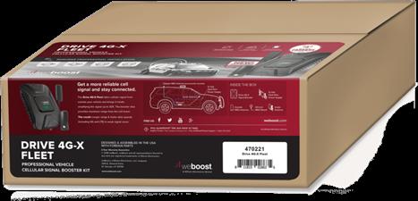 weBoost WeBoost Drive 4G-X Fleet In-Vehicle Signal Booster Kit