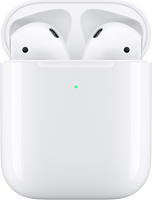 Apple AirPods 2 BT Headphones w/Wireless Charging Case
