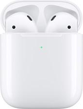Apple AirPods 2 BT Headphones w/Wireless Charging Case