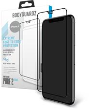 BodyGuardz iPhone XS/X Pure 2 Edge Glass Screen Protector