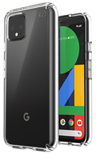 Speck Pixel 4 Presidio Clear Case