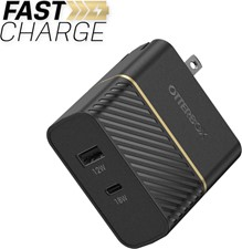 OtterBox Dual Fast Charge PD Wall Charger USB-C 30W