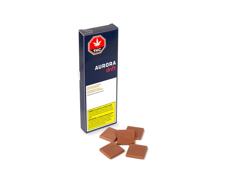 Sea Salt & Caramel Milk Chocolate - Aurora Drift  - Edibles