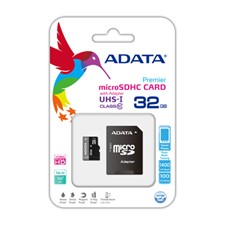 Adata ADATA microSDHC Class 10 Memory Card with SD Adaptor