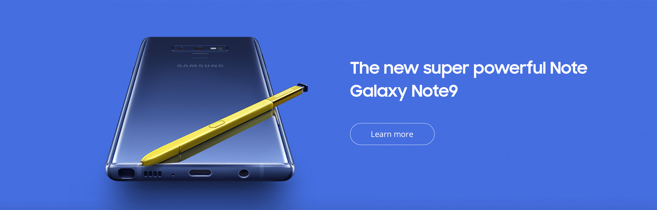 Samsung Galaxy Note9 from Verizon
