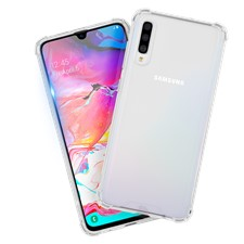 Case-Mate Protection Pack Tough Clear Case Plus Glass Screen Protector For Galaxy A70